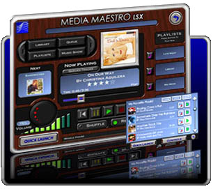 Click to view Media Maestro LSX 1.0.5 screenshot